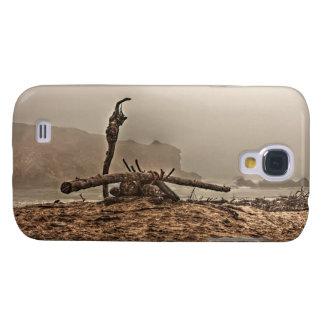 Treibholz auf einem nebelige klaren starken Kasten Galaxy S4 Hülle