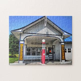 Treibstoff-Stationen des Weg-66 Puzzle