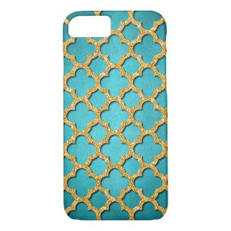Trendy aquamarines Imitat-glänzendes iPhone 7 Hülle