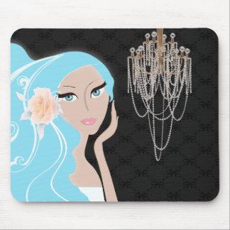Trendy Braut-Brautparty-Einladung Mousepads