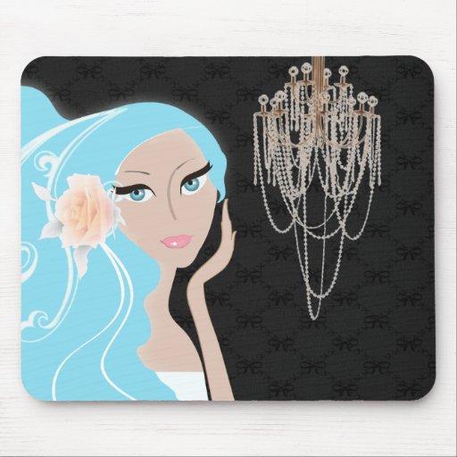 Trendy Braut-Brautparty-Einladung Mousepad