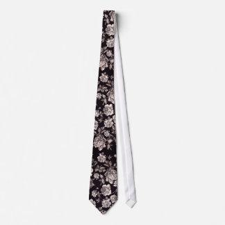 Trendy Chic-schwarzes u. weißes Vintages elegantes Personalisierte Krawatten