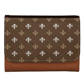 Trendy elegantes Lilien-Muster