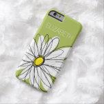 Trendy Gänseblümchen-Blumenillustration - Limon Barely There iPhone 6 Hülle