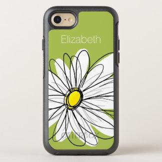 Trendy Gänseblümchen-Blumenillustration - Limon OtterBox Symmetry iPhone 8/7 Hülle