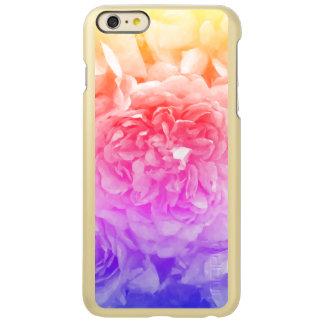 Trendy gelbe, rosa, lila Rose