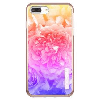 Trendy gelbe, rosa, lila Rose Incipio DualPro Shine iPhone 8 Plus/7 Plus Hülle