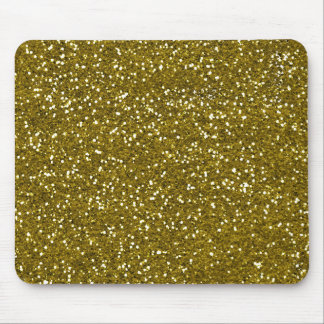 Trendy GoldGlitter Mousepad