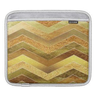 Trendy Imitat-Goldfolien-Sparren Sleeve Für iPads