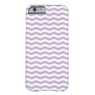 Trendy Lavendel Zickzack iPhone Fall Barely There iPhone 6 Hülle