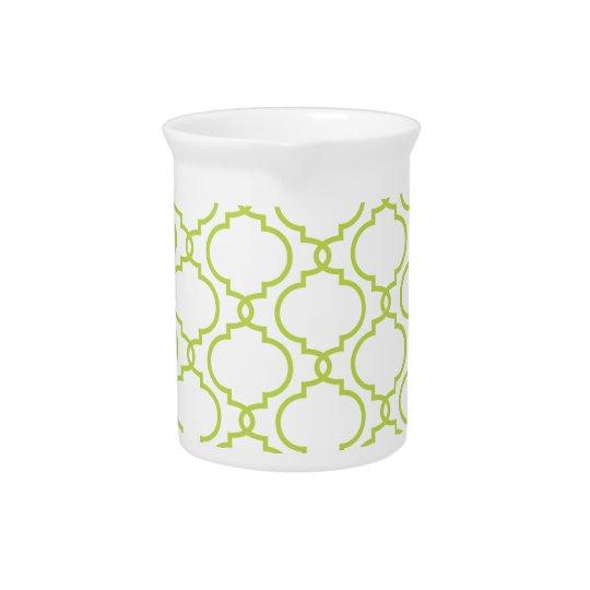 Trendy Limones grünes Muster Krug