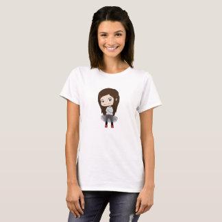 Trendy Mädchen - T - Shirt für Frauen -