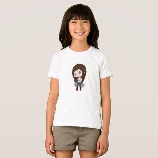 Trendy Mädchen - T - Shirt für Mädchen -