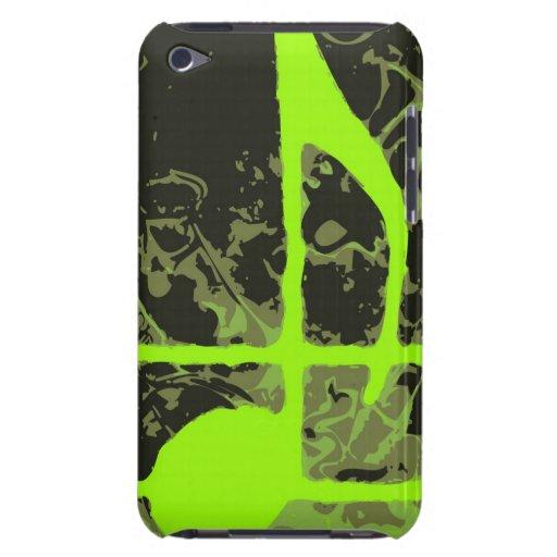 Trendy Musik-Anmerkungs-Retro Pop-Kunst iPod Touch Etuis