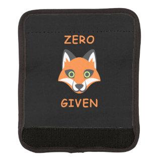Trendy null Fox gegebener Phrase Emoji Cartoon Gepäck Markierung