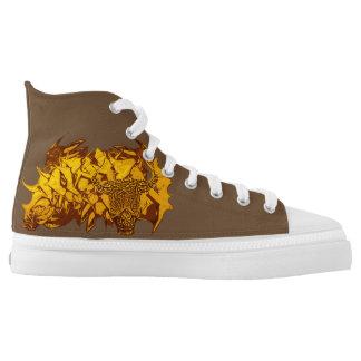 #Trendy Sneakers Minotaurus in Braun/Unisex