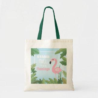 Trendy Stand hoch wie eine Flamingo-Taschen-Tasche Tragetasche