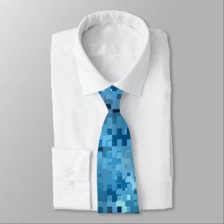 Trendy stilvolles cooles blaues Muster Krawatten