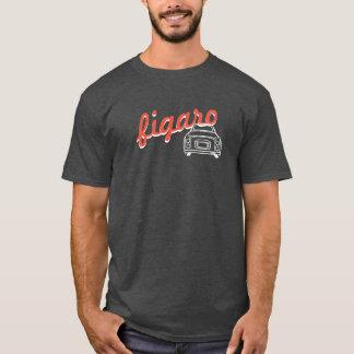 Trendy Text Figaro Auto Monoline T - Shirt