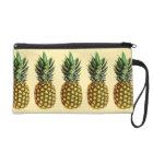 Trendy Vintage Ananaskunstmuster Wristlettasche Wristlet Handtasche