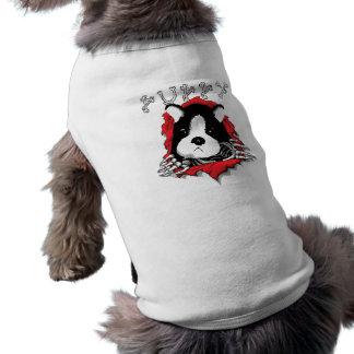 Trennmaschine-Welpen-T-Stück für Hunde T-Shirt