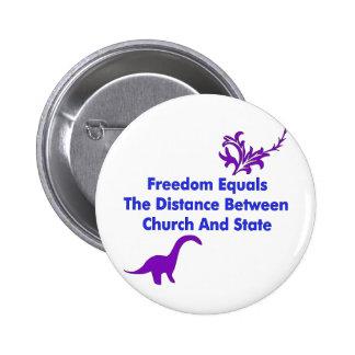 Trennung der Kirche und des Staat Anstecknadelbuttons