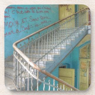 Treppe 01,0, verlorene Plätze, Beelitz Untersetzer