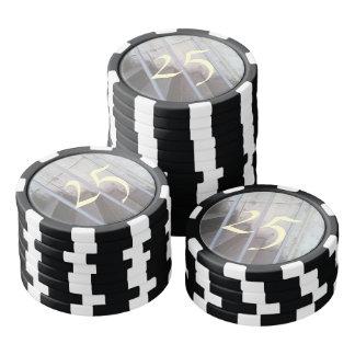 Treppe, Zaun und Wand Poker Chips Set