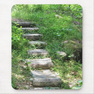 Treppenhaus in der Waldmausunterlage Mousepad