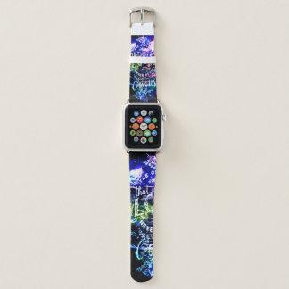 Treppenhaus zu den Himmeln 5o die diese Liebe wir Apple Watch Armband