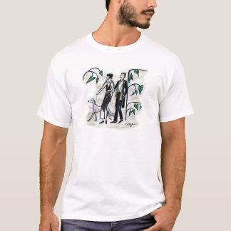Tres Chic, schöne Kunst durch TJ Conway T-Shirt
