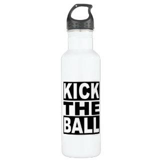 Treten Sie den Ball Trinkflasche