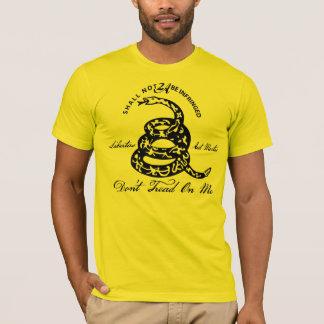 Treten Sie nicht auf mir 2. Änderung T-Shirt