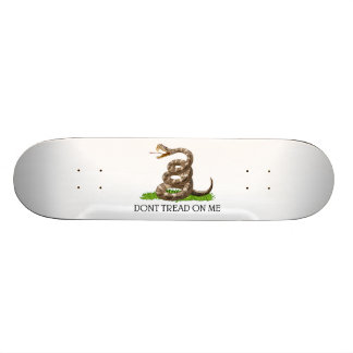 Treten Sie nicht auf mir amerikanische Revolutions Bedruckte Skateboarddecks