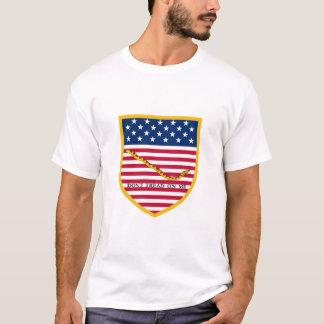 Treten Sie nicht auf mir Gadsden-Flagge T-Shirt