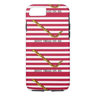 Treten Sie nicht auf mir - Marine-Jack-Flagge iPhone 8/7 Hülle