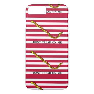 Treten Sie nicht auf mir - Marine-Jack-Flaggen iPhone 8 Plus/7 Plus Hülle