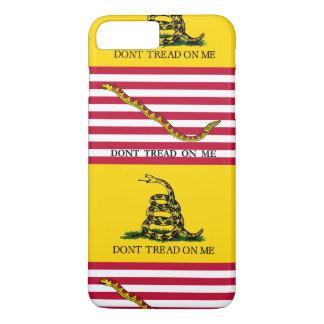 Treten Sie nicht auf mir - Marine-Jack u. iPhone 8 Plus/7 Plus Hülle