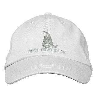 Treten Sie nicht auf mir stickte Hut Baseballmütze