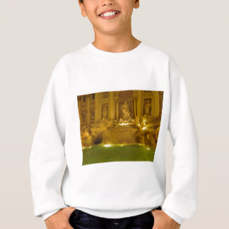 Trevi-Brunnen-Abend Sweatshirt
