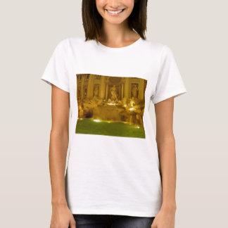 Trevi-Brunnen-Abend T-Shirt