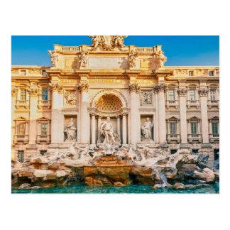 Trevi-Brunnen an Rom-Postkarte Postkarte