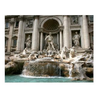 Trevi-Brunnen (Fontana di Trevi) - Rom Postkarte