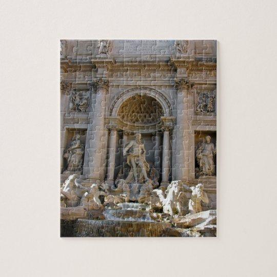 Trevi Brunnen in Rom - Italien Puzzle