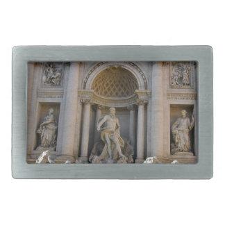 Trevi Brunnen in Rom - Italien Rechteckige Gürtelschnalle