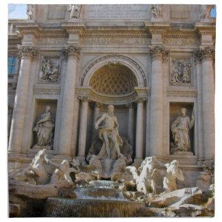 Trevi Brunnen in Rom - Italien Serviette