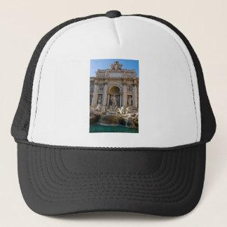 Trevi Brunnen in Rom - Italien Truckerkappe