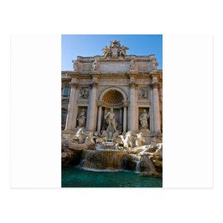Trevi-Brunnen in Rom Postkarte