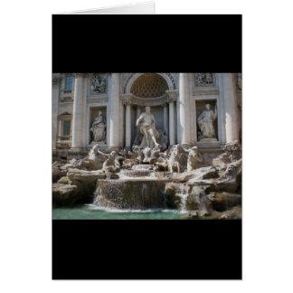 Trevi-Brunnen Karte