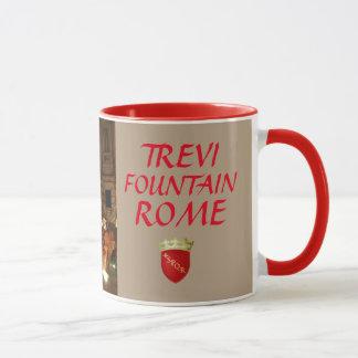 Trevi-Brunnen-Rom-Gewohnheits-Tasse Tasse
